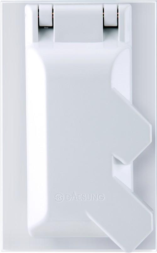 Розетка Daesung Nfs1221 розетка одиночная с з daesung nfs1210
