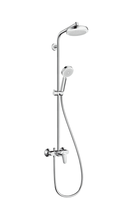 Душевая система Hansgrohe Croma showerpipe 160 27266