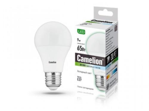Лампа светодиодная Camelion Led9-a60/845/e27