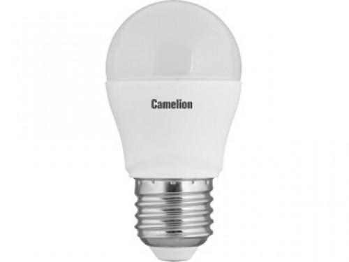 Лампа светодиодная Camelion Led7-g45/830/e27 лампа светодиодная camelion led5 g45 830 e27