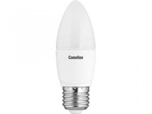 Лампа светодиодная Camelion Led7-c35/830/e27 camelion led 04 1uv