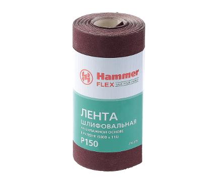 Шкурка шлифовальная в рулоне HAMMER Flex  216-015