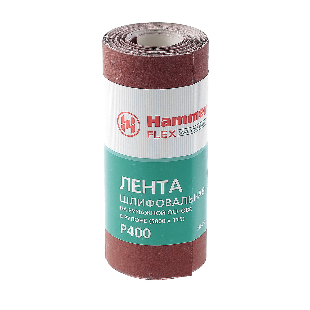 Шкурка шлифовальная в рулоне Hammer Flex  216-017 фрезер hammer flex frz1200b
