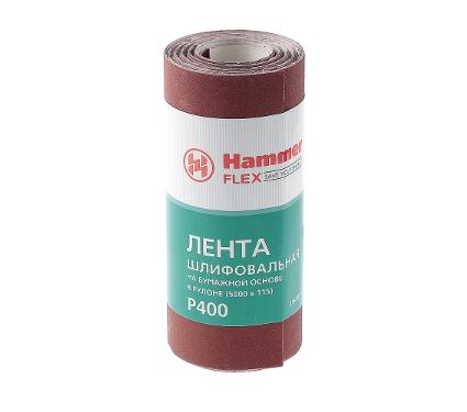 Шкурка шлифовальная в рулоне HAMMER Flex  216-017