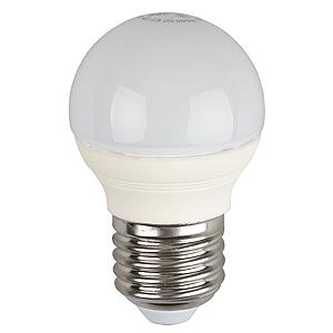 Лампа светодиодная ЭРА P45-7w-840-e27-clear эра f led p45 e27 5w 230v желтый свет