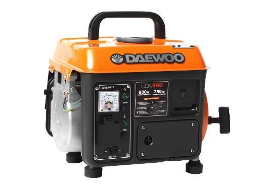 Бензиновый генератор DAEWOO GDA 980