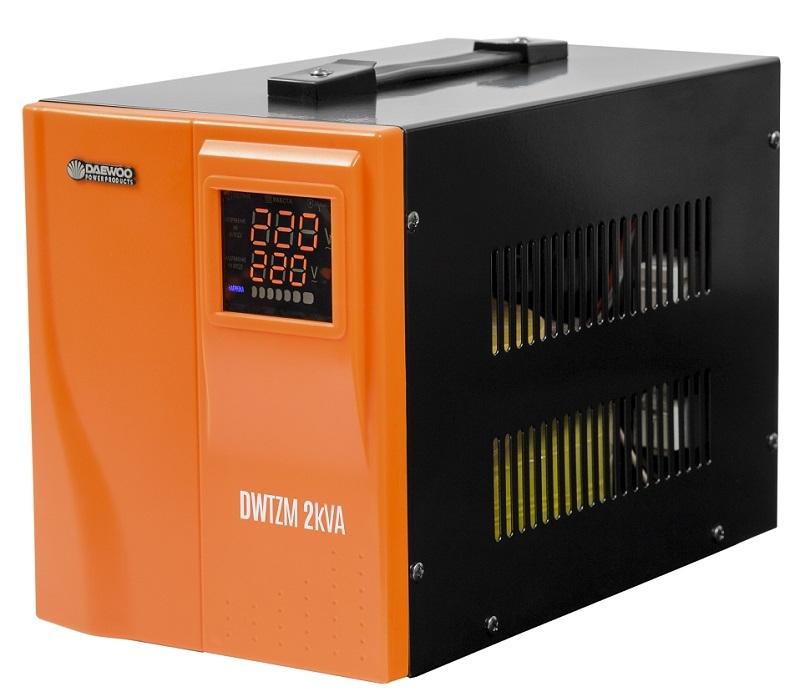 Стабилизатор напряжения Daewoo Dw-tzm2kva стабилизатор daewoo dw tzm500va basic line