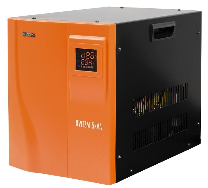 Стабилизатор напряжения Daewoo Dw-tzm5kva стабилизатор daewoo dw tzm500va basic line