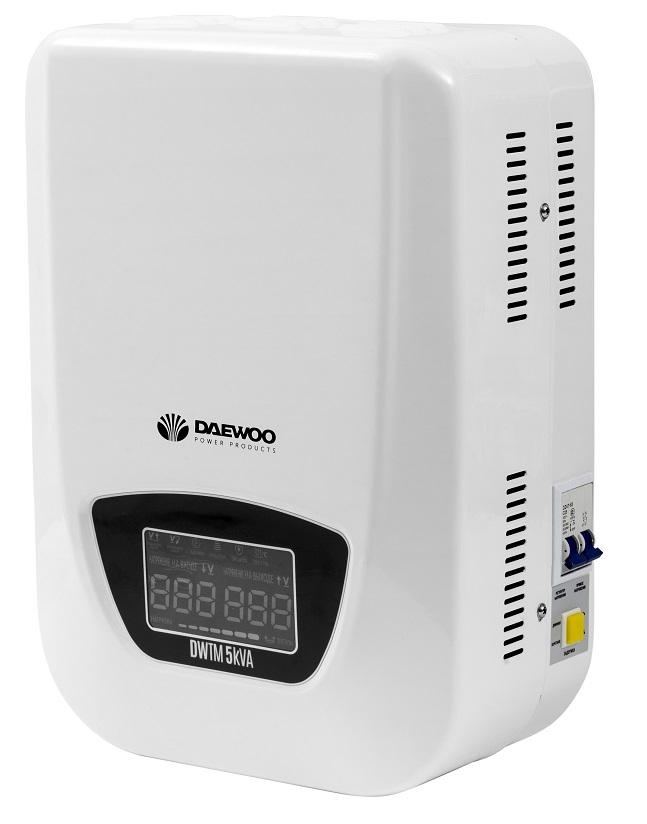 Стабилизатор напряжения Daewoo Dw-tm5kva стабилизатор daewoo dw tzm500va basic line