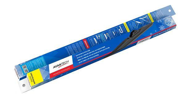 Щётка стеклоочистителя гибридная Avantech Snowguard polar phantom щетка стеклоочистителя phantom гибридная 48 см 1 шт