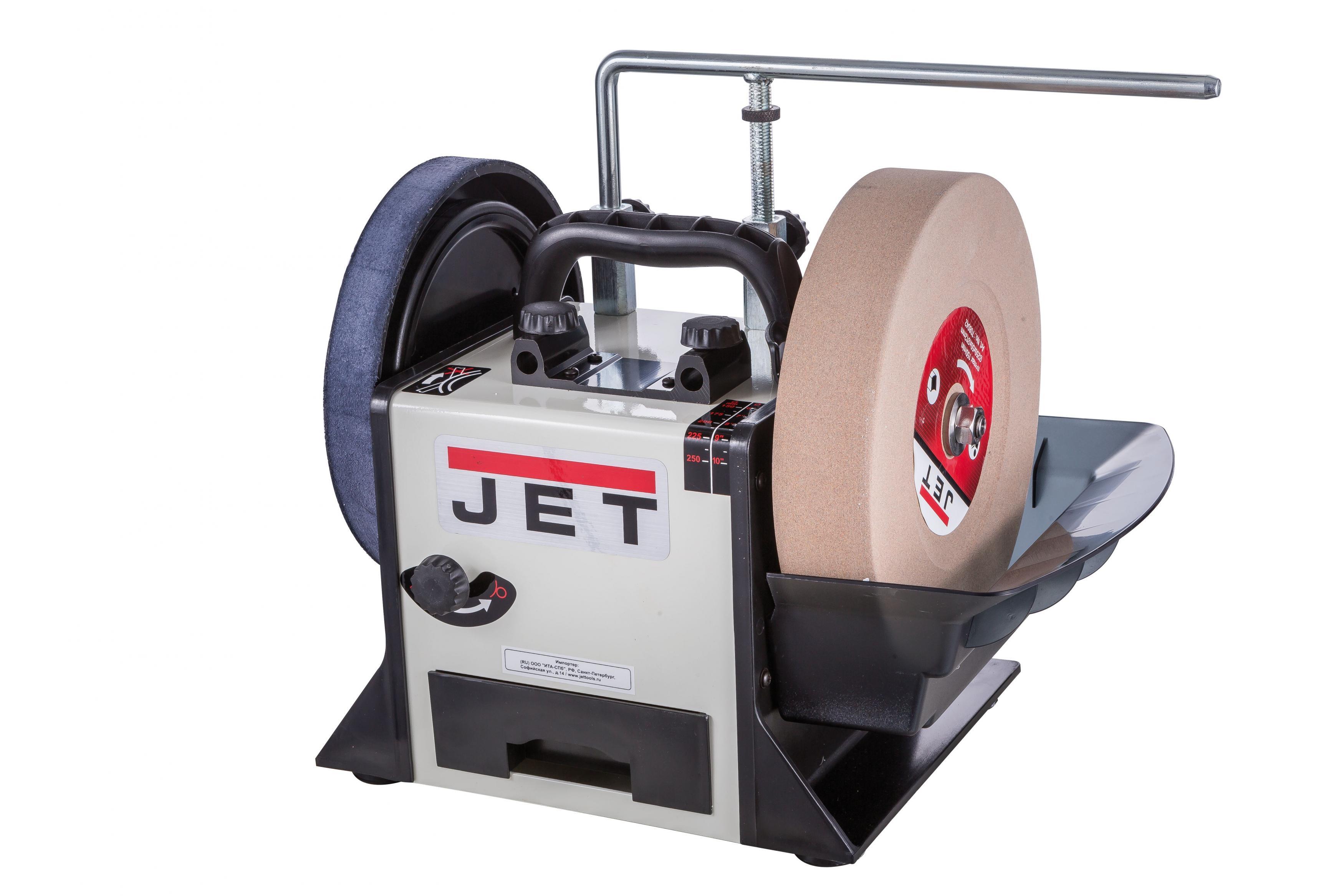 Шлифовально-полировальный станок Jet Jssg-10 708015m тарельчато ленточный шлифовальный станок jet 31a 2685031 ru