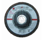 Круг Лепестковый Торцевой (КЛТ) ЛУГА-АБРАЗИВ КЛТ 4 115 Х 22 Р 24 (№63)