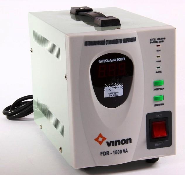 Стабилизатор напряжения Vinon Fdr-1500va