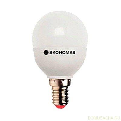 Лампа светодиодная ЭКОНОМКА Космос eco_led3wgl45e1430