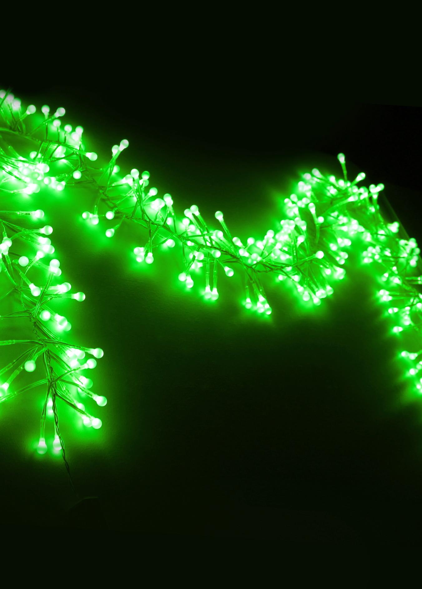 Электрогирлянда КОСМОС Koc gir288ledball гирлянда электрическая luazon lighting нить шарики зеленые нить прозрачная цвет зеленый 30 led 220 v 8 режимов длина 5 м