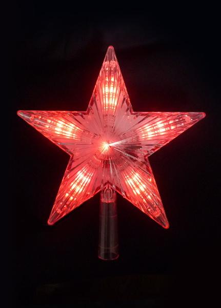 Светильник новогодний КОСМОС Koc star red уличный светильник kosmos koc sol219