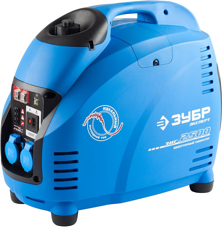 Инверторный бензиновый генератор ЗУБР ЗИГ-2500 генератор бензиновый eurolux g2700a