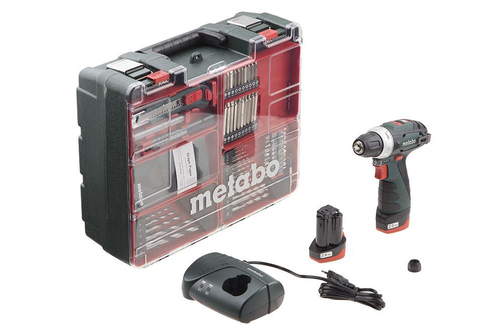 цена на Дрель-шуруповерт Metabo Powermaxx bs basic set (600080880)