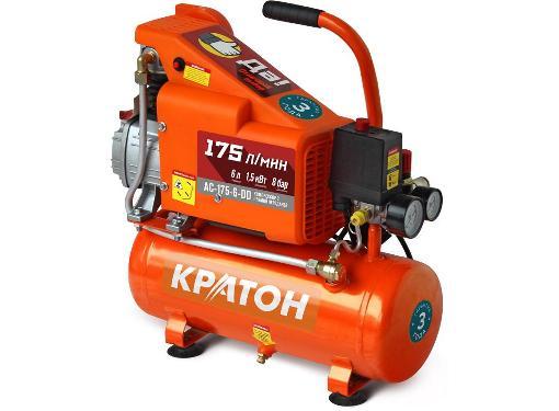 Поршневой масляный компрессор КРАТОН AC-175-6-DD