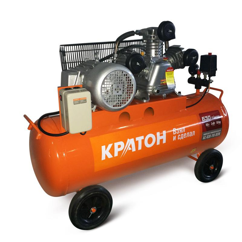 Компрессор КРАТОН Ac-630-110-bdw поршневой компрессор кратон ac 350 40