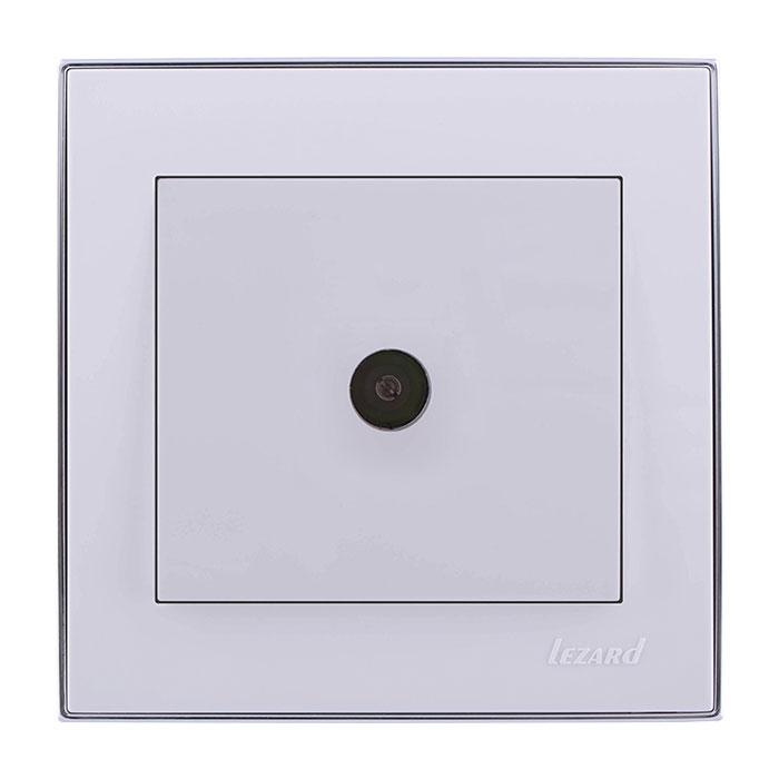 Розетка Lezard 703-0225-130 телефонная розетка abb bjb basic 55 шато 1 разъем цвет черный