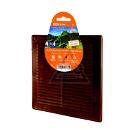 Решетка вентиляционная TDM SQ1807-0079 коричневая