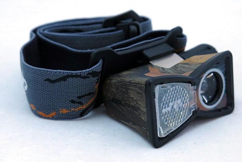 Фонарь Solaris M20 камуфляж фонарь налобный яркий луч lh 030 черный