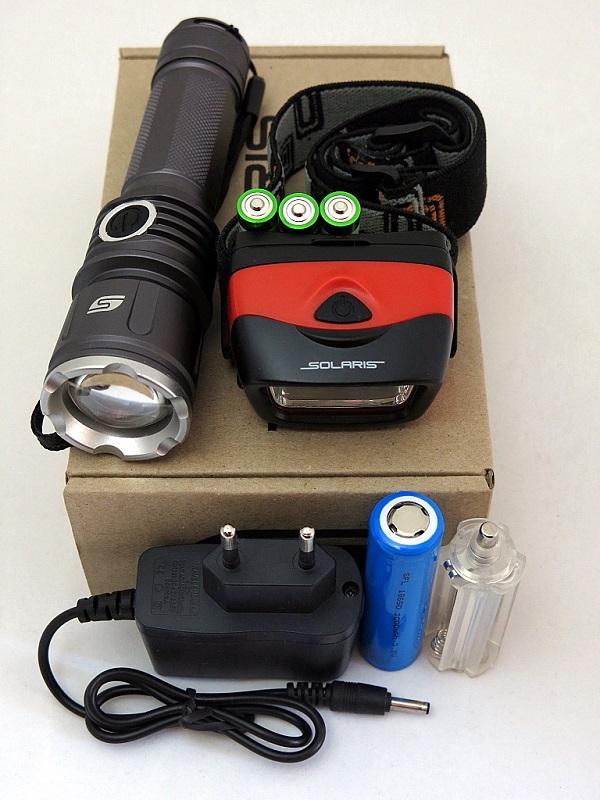 Фото - Набор Solaris Kit fz-50/l20 аккумулятор