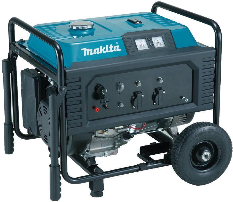 Бензиновый генератор Makita Eg 4550a бензиновый генератор makita eg6050a