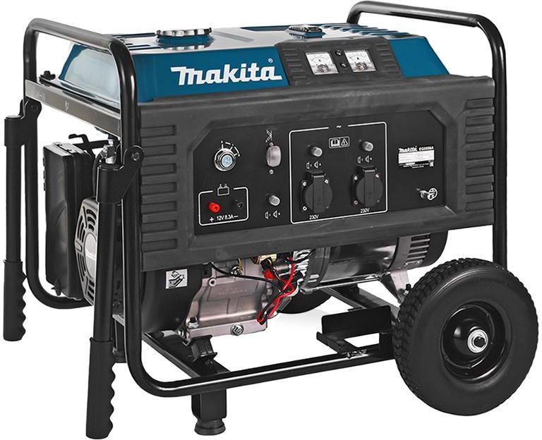 Бензиновый генератор Makita Eg 5550a бензиновый генератор makita eg5550a