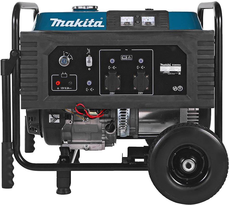 Бензиновый генератор Makita Eg 6050a бензиновый генератор firman rd8910e1