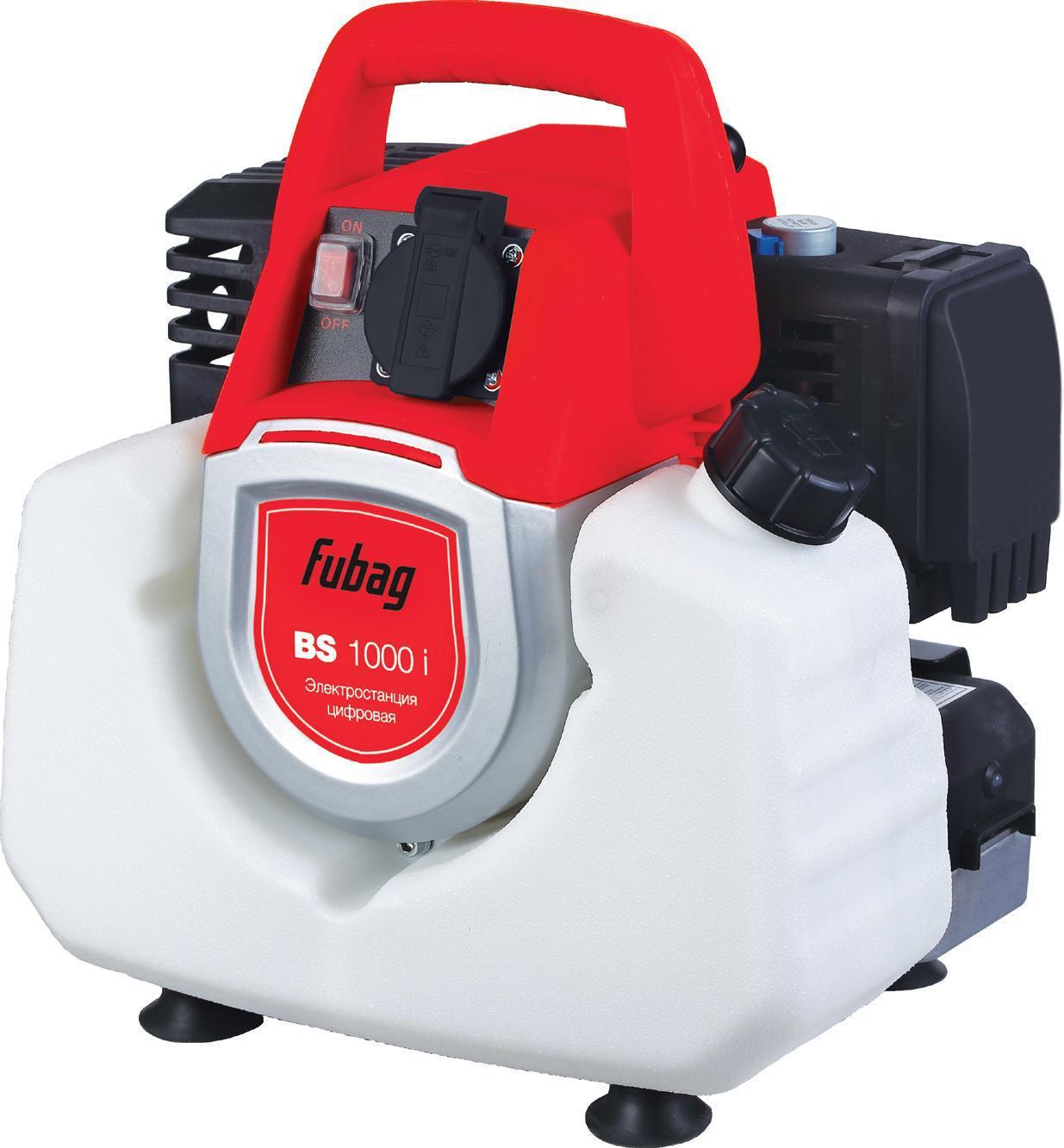 Бензиновый генератор Fubag Bs 1000i бензиновый генератор fubag ti 1000