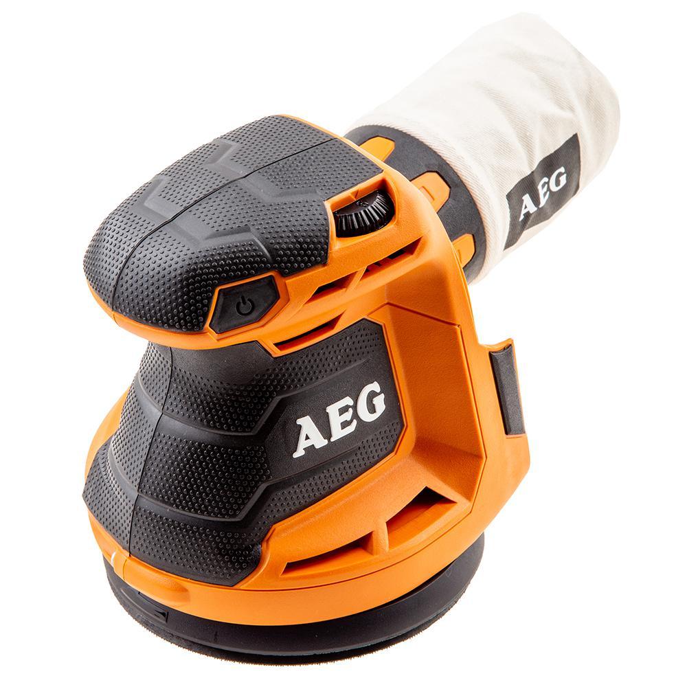 Купить Орбитальная (эксцентриковая) шлифмашина Aeg 451086(bex18-125-0)