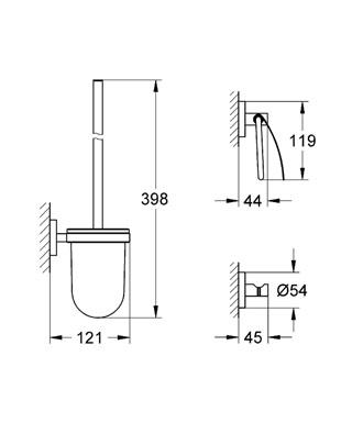 Набор аксессуаров Grohe 40407001 от 220 Вольт