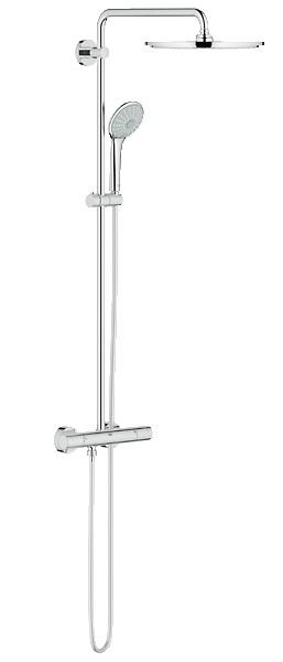 Душевая система Grohe 26075000 душевой трап pestan square 3 150 мм 13000007