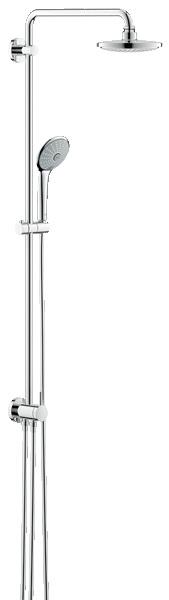 Душевая система Grohe 27421001 душевая система для душевой кабины le 1110 однорычажный хром kaiser кайзер