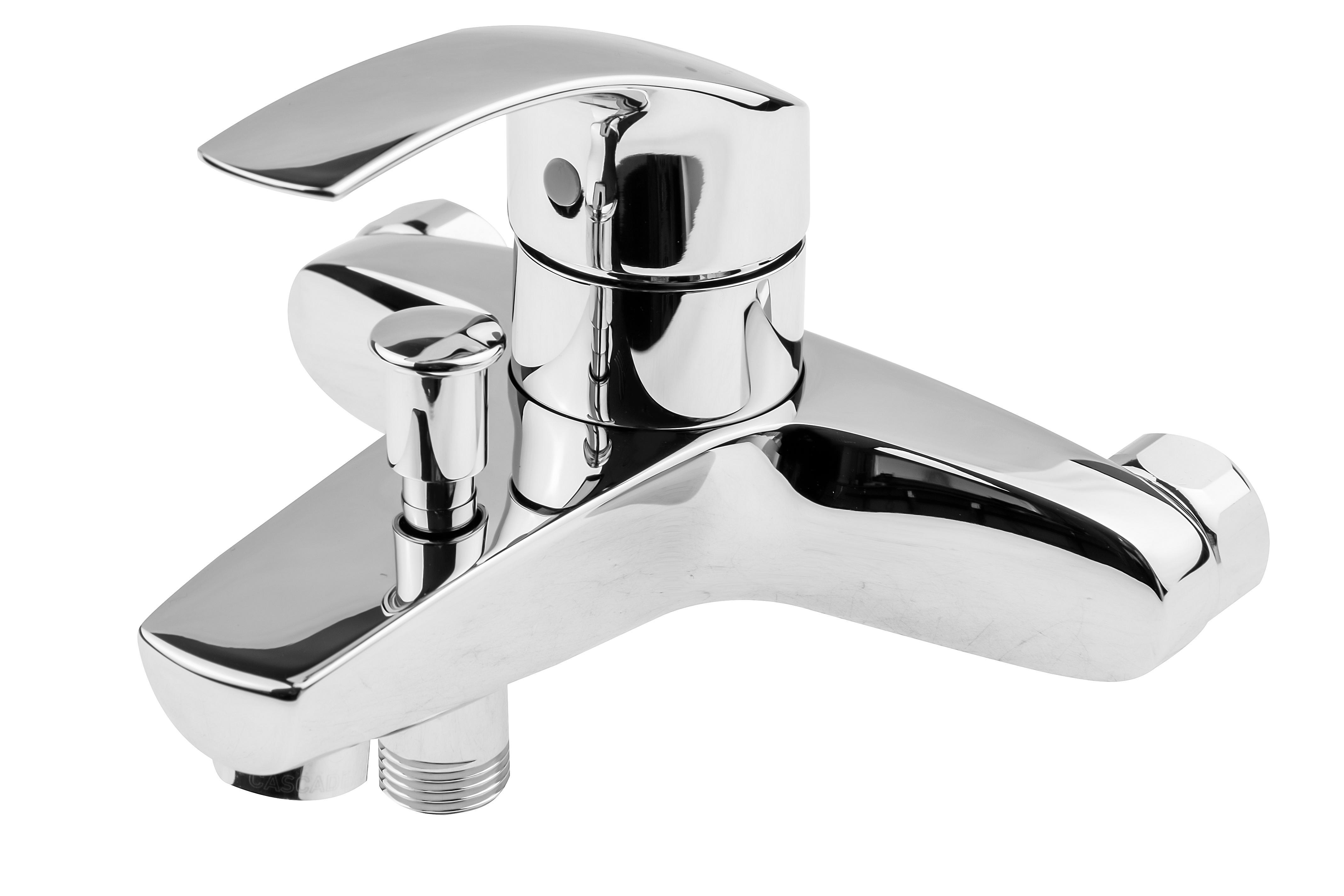Смеситель для ванны Grohe Eurosmart new 33300002 смеситель для ванны grohe eurosmart new с душевым набором настенный держатель ручной душ хром