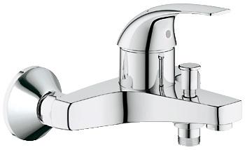 Смеситель для ванны Grohe Baucurve 32806000 смеситель grohe baucurve 31231000