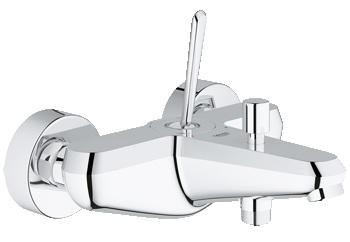 Смеситель для ванны Grohe Eurodisc joy 23431000 grohe eurodisc cosmopolitan 19574002 на борт ванны