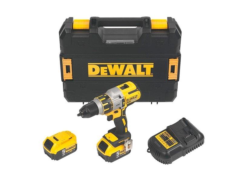 Дрель-шуруповерт Dewalt Dcd937p2 электроинструмент dewalt dcd937p2