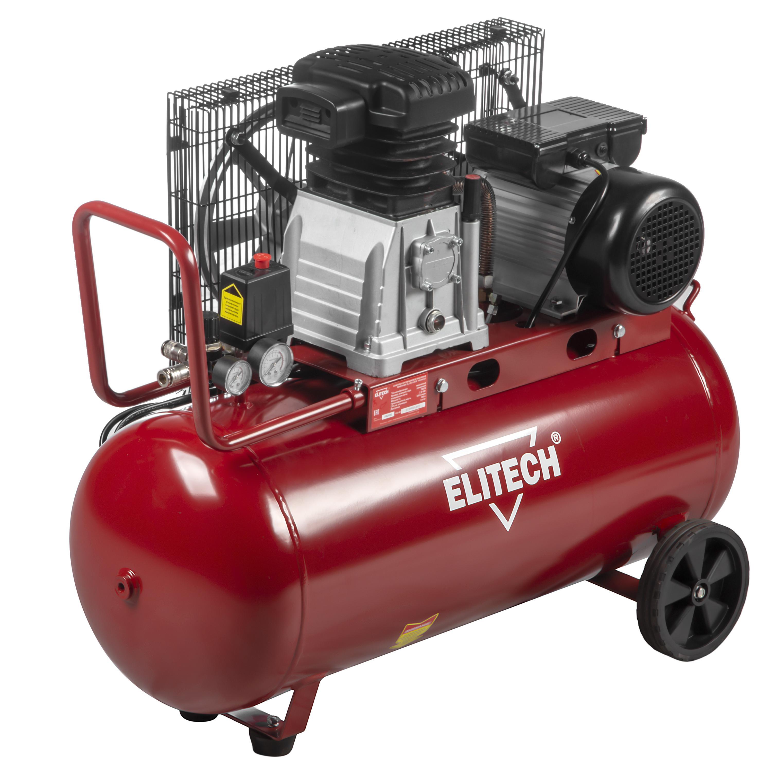 Компрессор Elitech КПР 100/360/2.2 компрессор ременной elitech кр200 ав515 3т