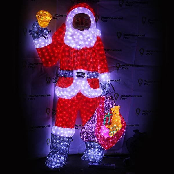Фигура новогодняя Ilini 04-01 игровые фигурки maxitoys фигура дед мороз в плетеном кресле музыкальный