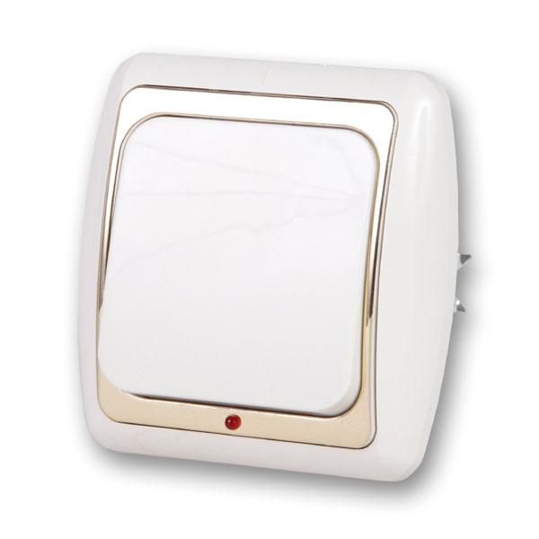 Выключатель Duewi 26197 1 выключатель двухклавишный наружный бежевый 10а quteo