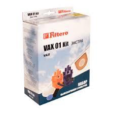 Набор Filtero Vax 01 kit ЭКСТРА vax u90 ma e