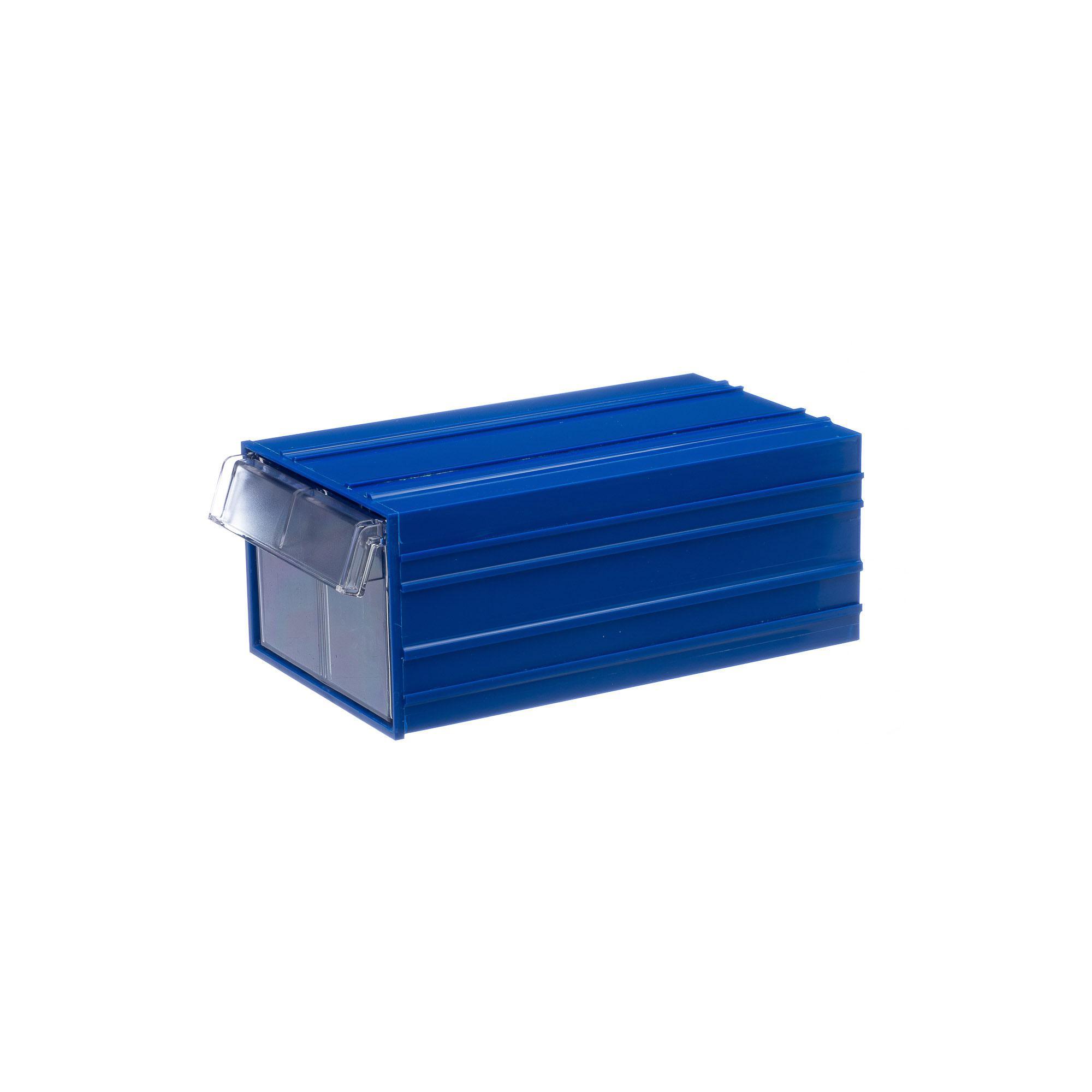 Короб СТЕЛЛА С-2 синий/ прозрачный от 220 Вольт