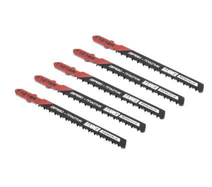 Пилки для лобзика HAMMER JG WD T101BR (5шт.)