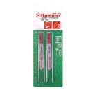 Пилки для лобзика HAMMER JG MT T118A (2шт.)