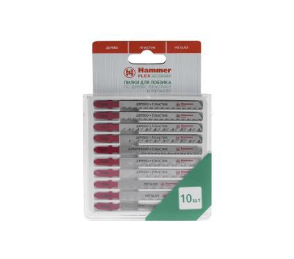 Пилки для лобзика HAMMER JG WD-PL-MT набор No5 (10шт.)