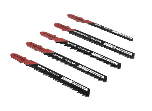 Пилки для лобзика HAMMER JG WD-PL набор No3 (5шт.)