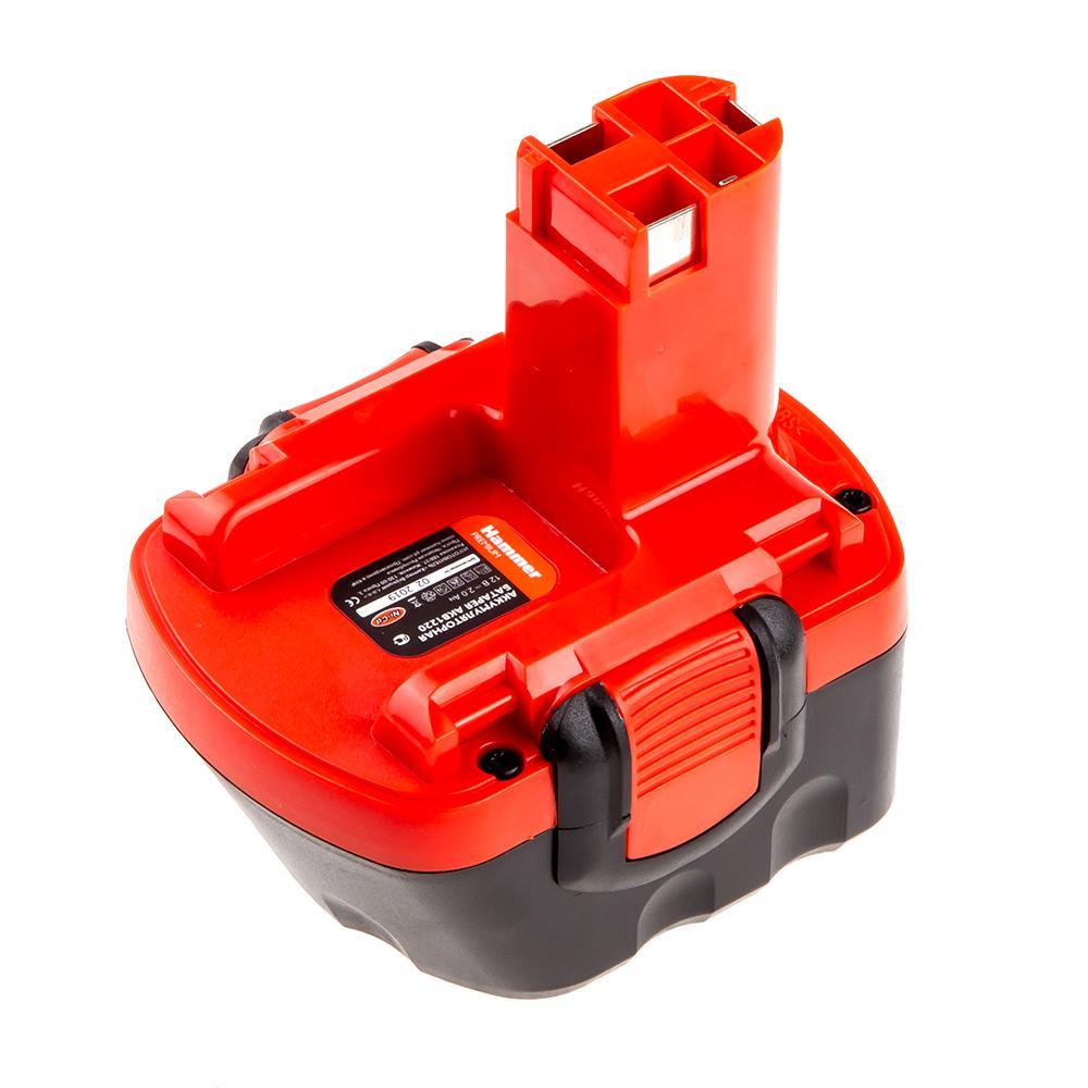Аккумулятор Hammer Akb1220 12В 2.0Ач аккумулятор hammer akm1220 12в nicd 2 0ач для makita